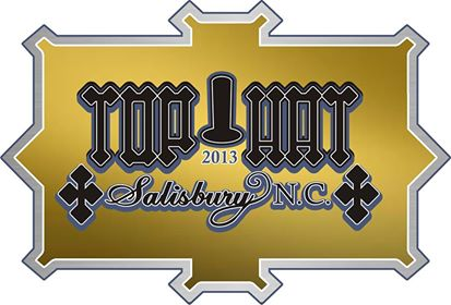 Top Hat Logo Gold